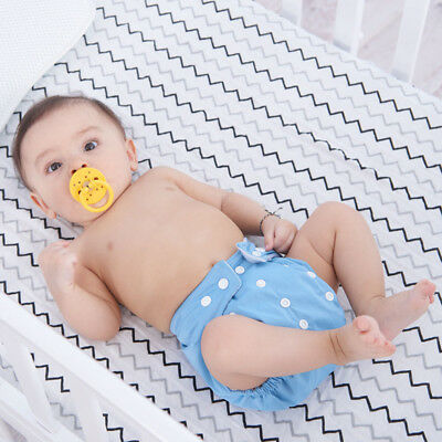 Reusable Adjustable Snap Button Leakproof Baby Infant Diaper Cloth Diaper Nappy