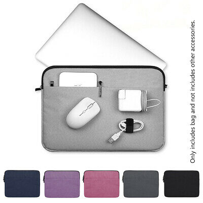 Bag Laptop Sleeve Case Notebook Cover For MacBook Air Pro Lenovo HP Dell Asus