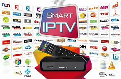 IPTV Subscription 12 Month Over 6500 Channels MAG M3U Android SmartTV iOS Window