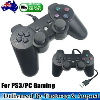 PS3 PC USB2.0 Wired Game Controller Gamepad Joypad for Laptop PC Computer Msonic