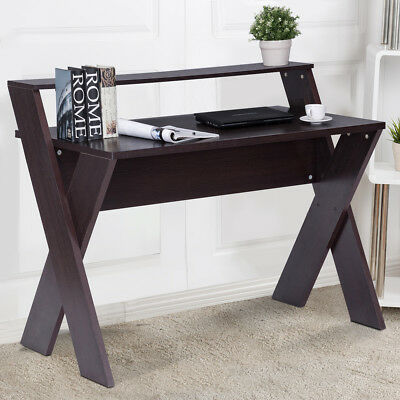 Wooden Computer PC Desk Study Writing table Workstation Home Office Furniture