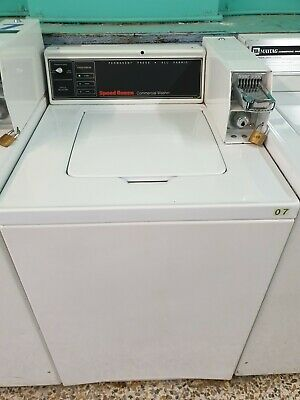 Coin operated Speed Queen top loader 3 position washer 2 available