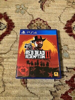Red Dead Redemption 2 + Wie Neu + Ps4 + PlayStation 4 + Game + Rdr 2