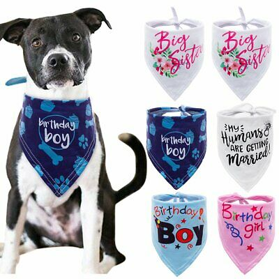 New Cute Adjustable Dog Bandana Collar Puppy Cat Pet Neckerchief Neck Scarf Tie
