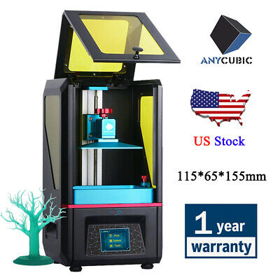 "ANYCUBIC Photon 3D Printer SLA Light-Cure FEP Frame 2.8"" TFT Screen 405nm Resin"