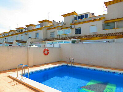 For Sale Well Presented Town-House In Daya Nueva With Pool Large Solarium Views!