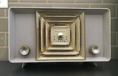 1957 Bulova Table Top Tube Radio - Model 300