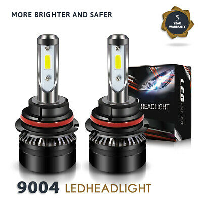 LED Headlight Kit 9004 HB1 12000LM Hi/Low Bulbs for TOYOTA 4Runner 1992-95 DTH