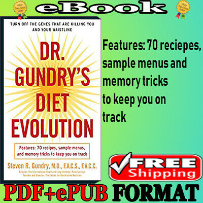 📚Dr.Gundry's Diet Evolution🔥Turn Off the Genes That Are Killing You and Your..