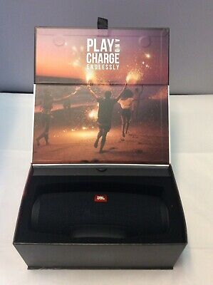 Jbl Charge 4 Black. Portable Bluetooth Waterproof Speaker. Good Condition!
