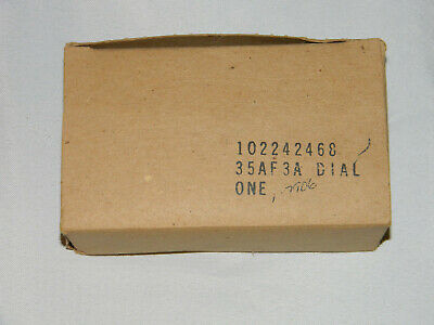NOS in the box  Western Electric Bell System 35 type Touch Tone dial