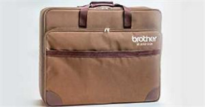 BROTHER SASEARMB THE Dream Machine Brown Embroidery Arm Bag
