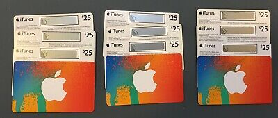 12x $25CAD ($300CAD total) Apple iTunes Gift Cards