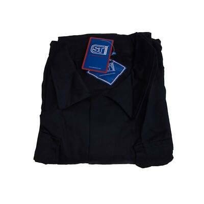 Polycotton Coverall Navy 3XL Regular Leg Chest 136cm-144cm - Supertouch 51906