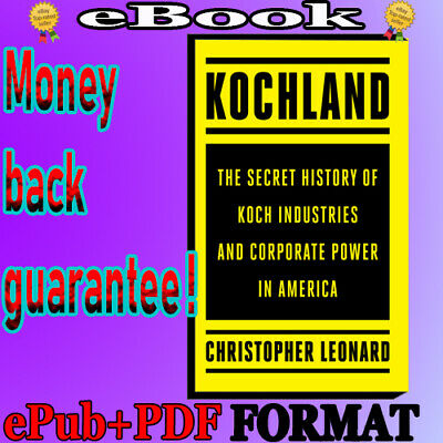 📚Kochland-The Secret History of Koch Industries and Corporate Power in America
