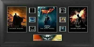 Batman The Dark Knight Trilogy 20 X 11 Film Cell Numbered Limited Edition