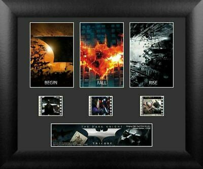 Batman The Dark Knight Trilogy S1 3 Cell Standard Numbered Limited Edition COA