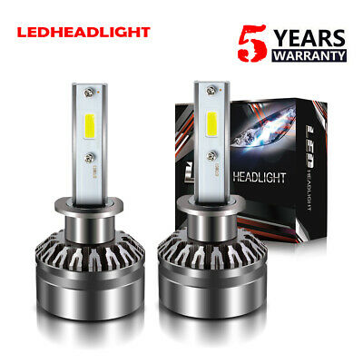 for FORD Explorer 1999-01 LED Headlight Kit H1 12000LM 6000K Fog Light Bulb DTH