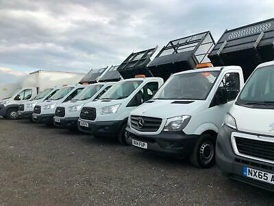 15-17 Ford Transit & Mercedes Sprinter Mwb Lwb Single & Double Crew Cab Tippers