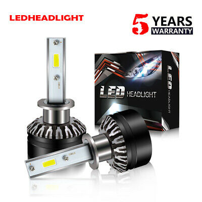 for NISSAN Maxima 2002-03 LED Headlight Kit H1 6000K 12000LM Low Beam Bulbs DTH
