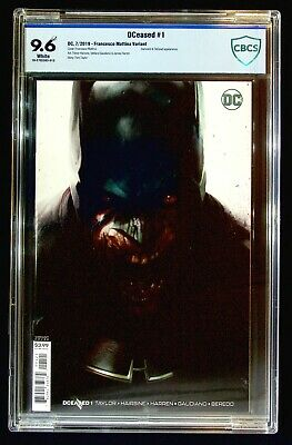 DCeased #1 (2019) CBCS 9.6 Francesco Mattina Variant Hairsine Darkseid DeSaad