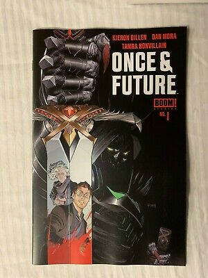 ONCE AND FUTURE #1 Boom First Print Hot New Comic Book Kieron Gillen Auction - 1