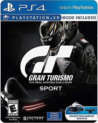 Playstation 4 Ps4 Video Game Gran Turismo Sport Limited Edition Brand New