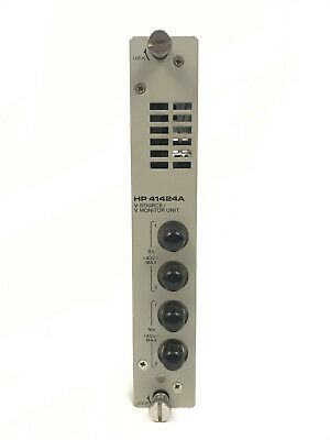 Agilent HP 41424A V Source / V Monitor Unit Module for 4142B Mainframe