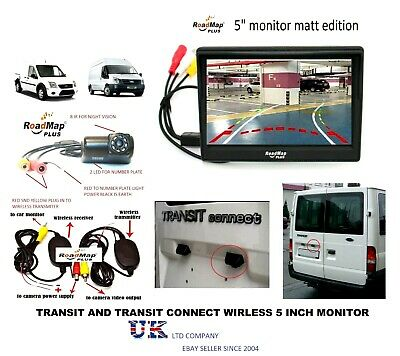 ford transit & connect Rear reversing camera parking 5 inch monitor
