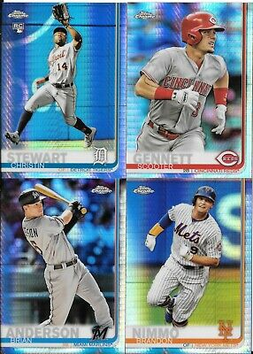 2019 Topps Chrome Prism Refractor Parallel You Pick/Choose the Card