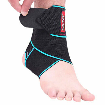 Wrap Ankle Support Bandage Breathable Adjustable Nylon Brace Guard Protector