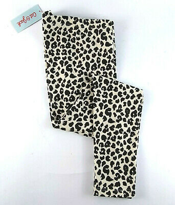 Cat Jack Leopard Print Leggings Girls Size Large (10/12) New With Tags