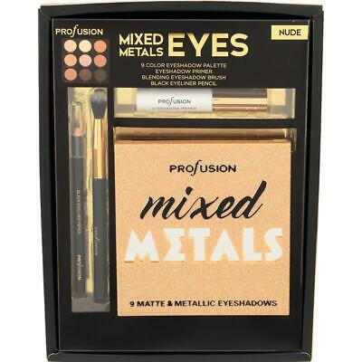 Profusion Cosmetics - Mixed Metals Nude Eyes Set