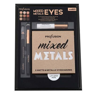 Profusion Cosmetics - Mixed Metals Amber Eyes Set