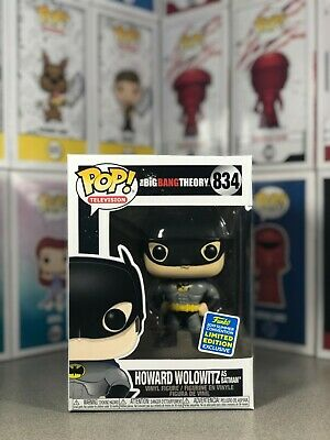 Funko Pop! Big Bang Theory Howard as Batman #834 - Shared Sticker SDCC Exclusive