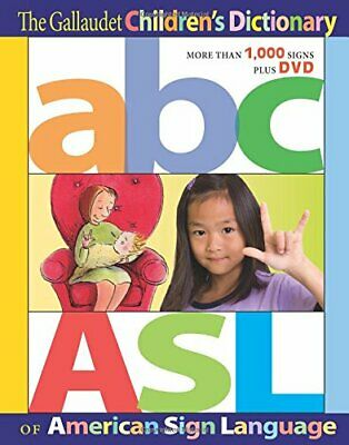 NEW - The Gallaudet Children's Dictionary of American Sign Language