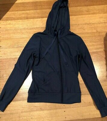 LORNA JANE UNIQUELY JACKET Size XS Preowned In VGC