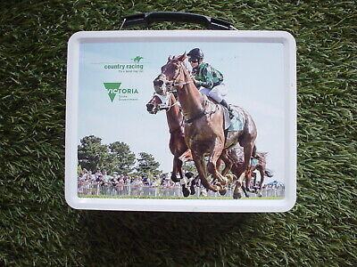 Collectable Lunchbox Tin Country Racing Victoria.