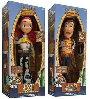 Toy Story Sheriff Woody Jessie Doll Kid Baby Soft Talking Action Figures Toy