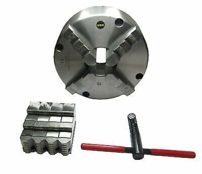 Rdg Tools 315Mm 4 - Jaw Self Centering Lathe Chuck Front Mount Int Ext Jaws