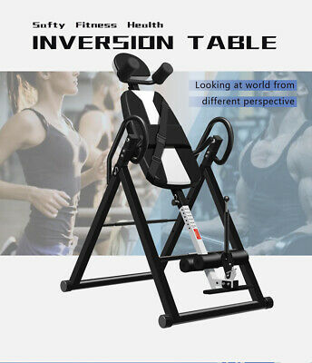 Premium Inversion Table Chiropractic Exercise Back Reflexology Pad Pro Fitness