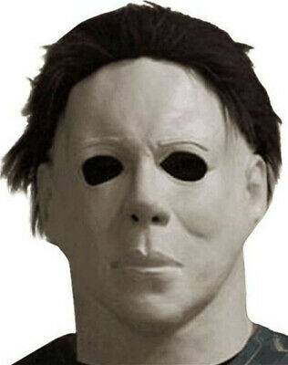 Michael Myers Mask 1978 Halloween Latex Full Head Adult Size Fancy Party Prop US