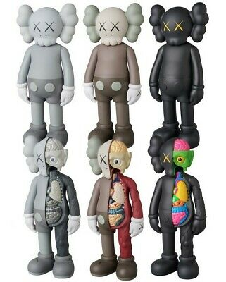 KAWS Dissected Companion Action Figures Kids Original Fake Toys 20cm 8inch