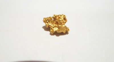 Genuine Australian Gold Nugget Found In The Goldfields 0.77 Grams No 17