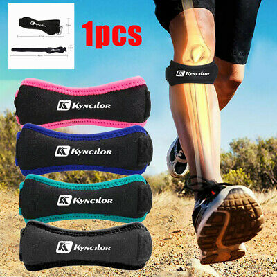 Soft Brace Knee Protector Belt Adjustable Patella Strap Sport Guard Support