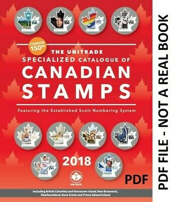 2018 Unitrade Specialized - Catalogue Of Canadian Stamps