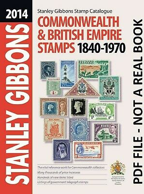 Stanley Gibbons Stamp Catalog Commonwealth & British Empire Stamps 1840-1970