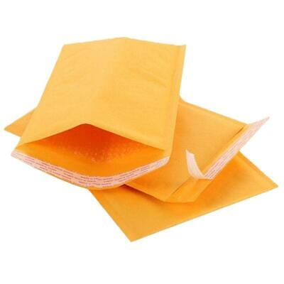 10 Pcs Kraft Bubble Mailers Padded Mailing Bags Paper Shipping Envelopes Yellow