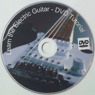 Learn to play Electric Guitar - DVD Video Lessons FREE P&P + Printed Cover