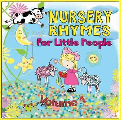 Childrens Singalong Nursery Rhymes Vol 1 Audio CD FREE P&P & PRINTED FACE